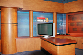 KEYT news set